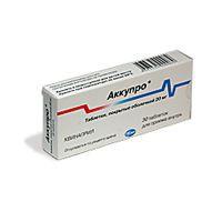 Аккупро, табл. п/о 20 мг №30