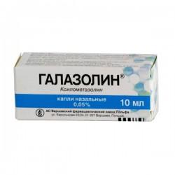Галазолин, капли наз. 0.05% 10 мл №1