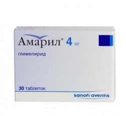 Амарил, табл. 4 мг №30